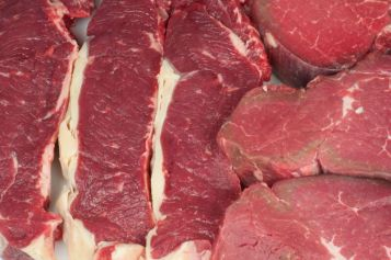 Steaks cut to your preferenceby our butcher.